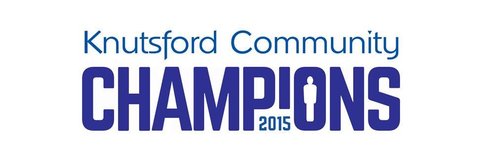 Knutsford Community Champions 2015 logo