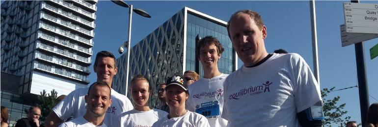 Equilibrium team after Salford 10k