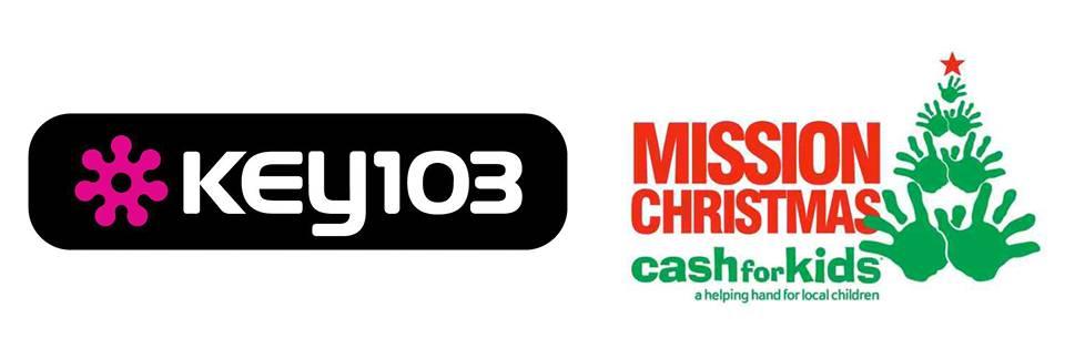 Key 103 & Mission Christmas Cash for Kids logo
