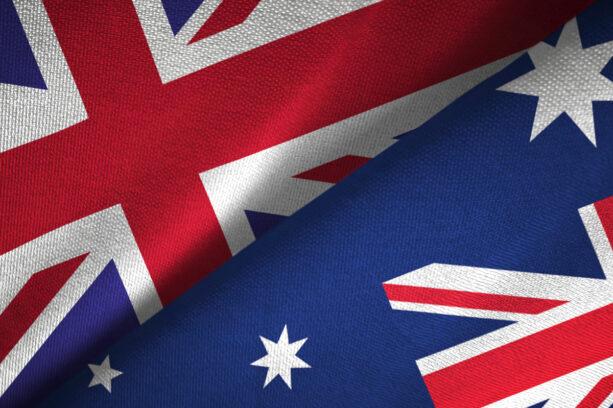 australian flag crop
