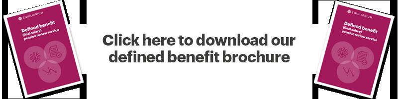 Equilibrium defined benefit brochure